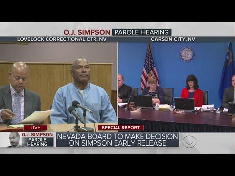 O.J. Simpson Parole Hearing