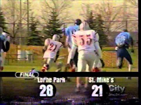 Lorne Park Football - 2000 Metro Bowl Champs (TV Clips)