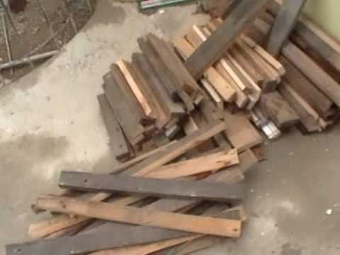 Como hacer una jardinera parte 1 youtube - Jardineras de madera ikea ...