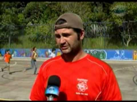 Projeto atletismo no aaca coordenado pelo instituto bola da vez