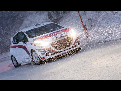 WRC Rally Monte-Carlo 2016 | Test before the rally | Rok Turk
