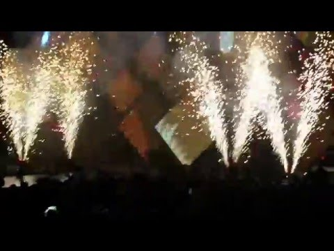 Kygo - I See Fire feat. Ed Sheeran remix - live in NYC Barclays Center 21.01.16