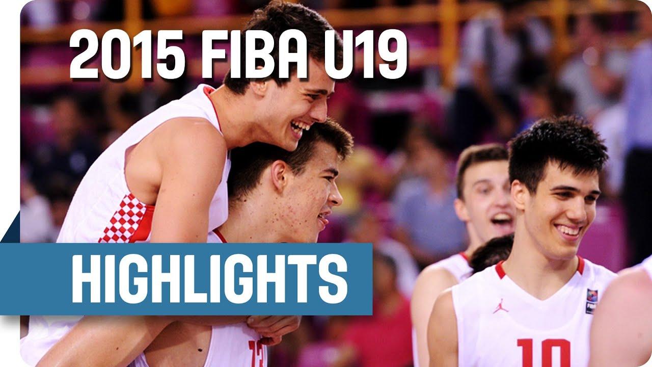 Croatia v Turkey - Semi-Final Game Highlights - 2015 FIBA U19 World Championship