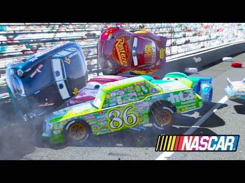 TURBINE HANDIKAP DEMOLITION DERBY CARS 3 NASCAR RACE  