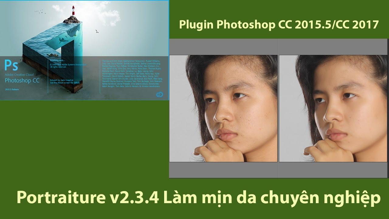 [Plugin Photoshop CC 2015.5/CC 2017] – Portraiture v2.3.4 Làm mịn da chuyên nghiệp