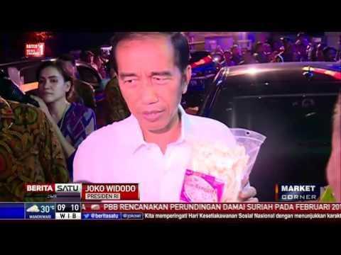 Jokowi Belanja Produk Lokal di Hypermart Palangkaraya
