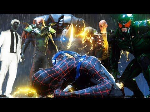 ЗЛОВЕЩАЯ ШЕСТЕРКА ПОКАЗАЛА СЕБЯ Володя в Человек Паук на PS4 Прохождение Marvel's Spider Man ПС4