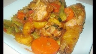 Chicken And Plantains - Poulet Dg - African Food