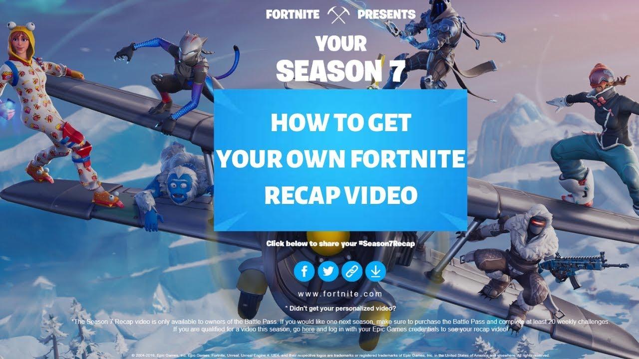Season 9 Recap Fortnite Epic Games Fortnite Season 7 Recap Videos Fortnite Season 9 Opening