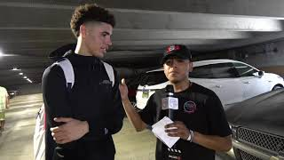 Drew League 2019: Fredo Cervantes Interviews future NBA Star LaMelo Ball -highlights with No Shnacks