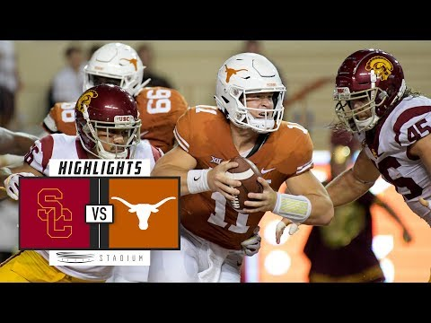 #22 USC vs Texas Football Highlights (2018) | Stadium