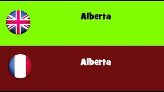 From English To French = Alberta