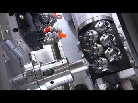 Chiah-Chyun - Complex CY2-52MB - Multi Axis Driven Tool Turn Mill