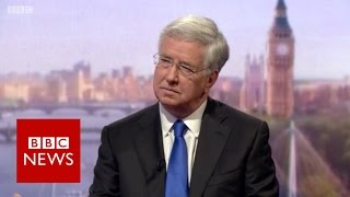 Sir Michael Fallon  NHS trusts were repeatedly warned on cyber security   BBC News