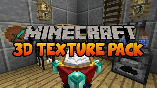 MINECRAFT TOP 3 RESOURCE PACKS (3D) FOR 1.8/1.9/1.10 (360°)