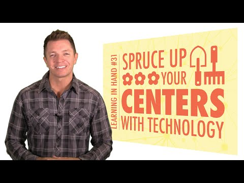 Spruce Up Your Centers with Technology