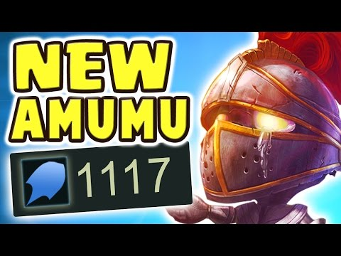 1100+ AP NEW TRUE DAMAGE AMUMU PASSIVE IS BROKEN | FULL AP 1-SHOTS - Nightblue3
