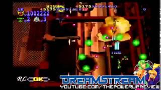 DreamStream: GigaWing 2 JP Import (Sega Dreamcast Gameplay)