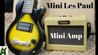 Mini Guitar + Mini Amp = ?  | 1996 Epiphone Les Paul Pee Wee Review + Demo | Part 1