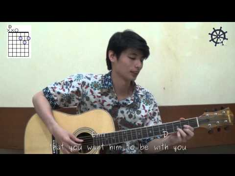 Akustik Gitar - Belajar Lagu (When You Love Someone - Endah n Rhesa)