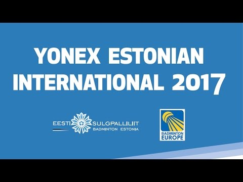 Heming Lin vs Elias Bracke (MS, Qualifer) - Estonian International 2017