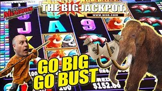 $1,000 Mighty Mammoth Slot Play! ✦ GO BIG OR GO BUST! ✦ WILL RAJA WIN?? 🤔