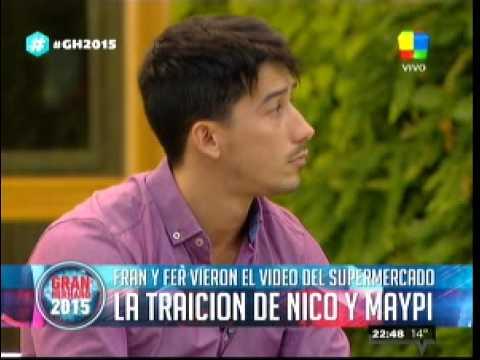 """""""Gran Hermano 2015"""": Fernando y Francisco se enteraron del engaño de Maypi y Nico"""