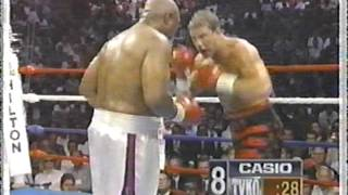 Tommy Morrison vs. George Foreman 3/5