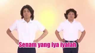 Senam yang iya iyalah Versi 2nd COWCOW Original  - Indonesia  (Atarimae Taiso)