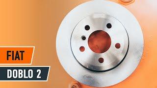 Как да сменим Предни спирачни дискове, спирачни накладки наFIAT DOBLO 2