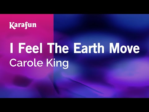 Karaoke I Feel The Earth Move - Carole King *
