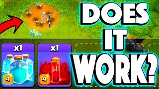CAN YOU CLONE SPELL A SKELETON SPELL? - Clash of Clans - COC MYTHBUSTERS!