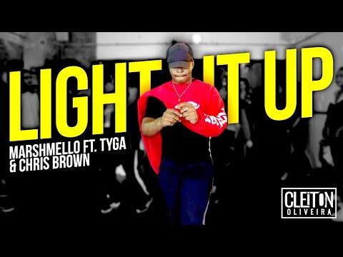 LIGHT IT UP - Marshemello Ft Chris Brown COREOGRAFIA Cleiton Oira  IG: CLEITONRIOSWAG
