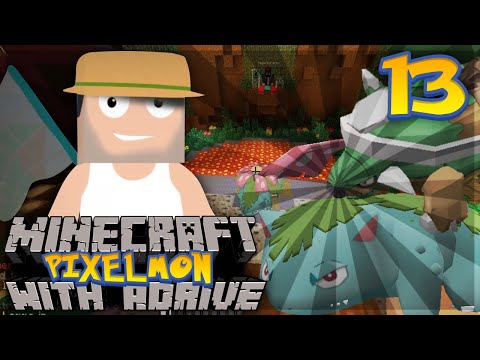 "Minecraft PIXELMON with aDrive! Ep13 ""GRASS GYM TIME"" - PocketPixels Red Let's Play!"