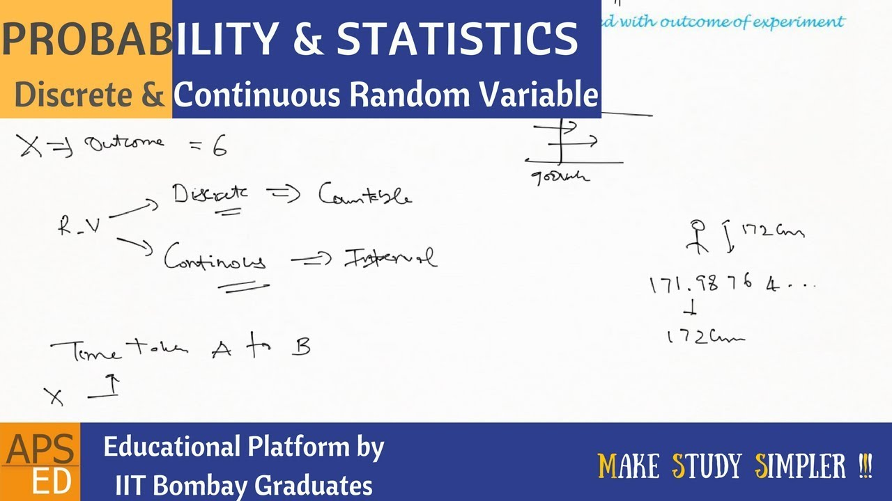RANDOM VARIABLE STATISTICS PDF DOWNLOAD