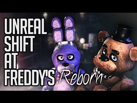 THIS ARE GETTING BETTER   Unreal Shift at Freddy's Reborn