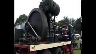 3 TON FLYWHEEL! Vintage Steam Rally,Stou...