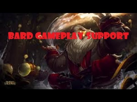 League Of Legend - Bard Support - Full Game Commentary - Season 5