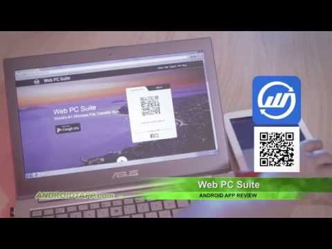 Web PC Suite (Android App Review)