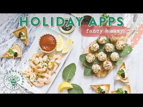 Fancy But EASY Holiday Appetizers 🍽 #RECIPES4BUZYBEEZ