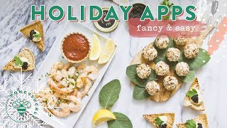 Bakery vs homemade matcha mochi cake: https://youtu.be/mvm7zvw_ziy happy holidays #buzybeez today we have 3 easy but super elegant holiday appetizers that wi...