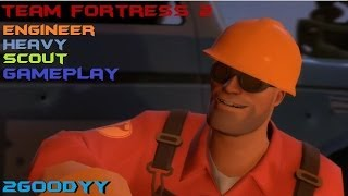TF2: Engineer/Heavy/Scout Gameplay (Team Fortress 2)