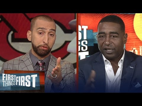 Nick and Cris on Patrick Mahomes' Week 1 performance in win over Chargers | NFL | FIRST THINGS FIRST