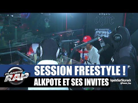 Youtube: Alkpote – Session freestyle avec Secteur P, RM, Back, Lil, Kai du M & Rosdagang #PlanèteRap