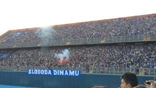 Bad Blue Boys-  Dinamo vs Hajduk (12.7. 2015)