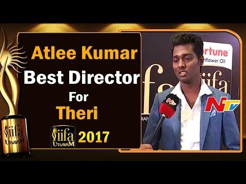 Atlee Kumar || Best Director Award for Theri Movie @ IIFA Utsavam || #IIFAUtsavam2017 || NTV