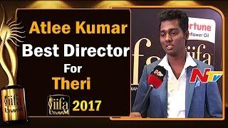 Atlee Kumar    Best Director Award for Theri Movie @ IIFA Utsavam    #IIFAUtsavam2017    NTV