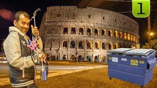 TRAVEL ВЛОГ: Италия. Рим. Аренда жилья. Первые негативные впечатления. Часть 1(, 2017-04-09T22:16:54.000Z)