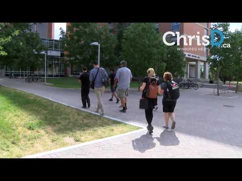Canada Summer Games Athletes Village Tour - July 25, 2017 - Winnipeg, Manitoba