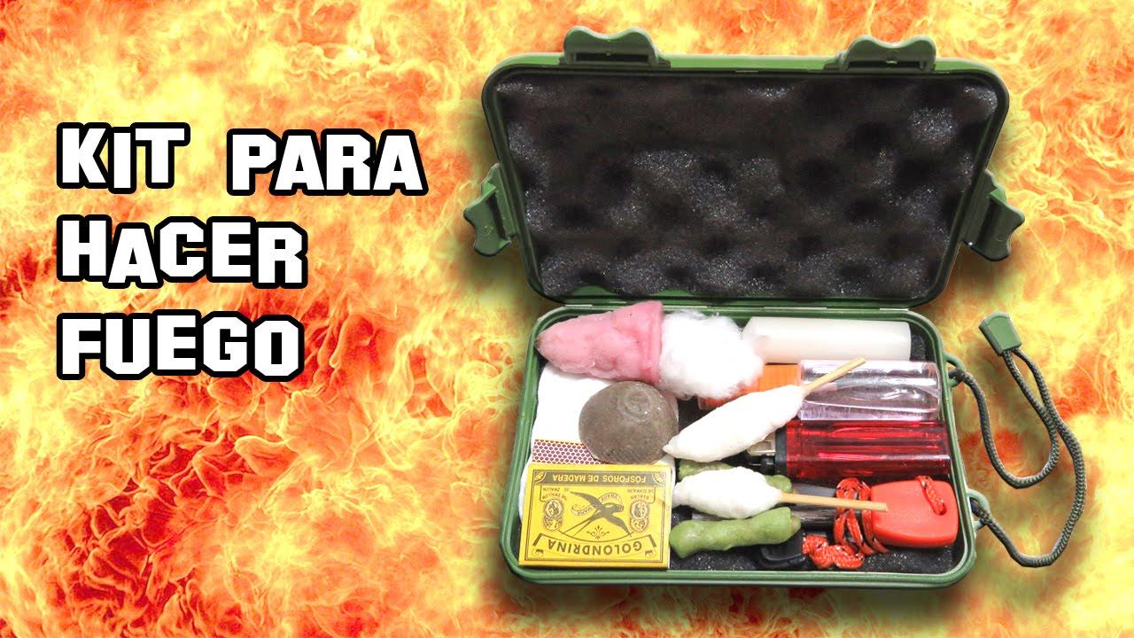 Kit para hacer fuego v deo de supervivencia youtube for Kit para toldos de enrollar